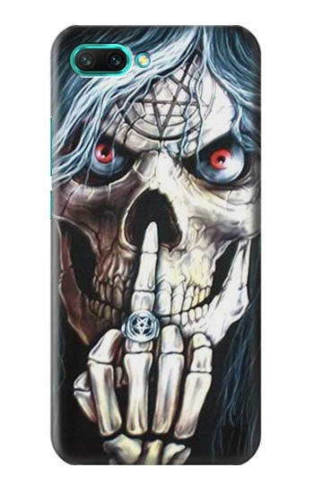 Printed Skull Pentagram Huawei Honor 10 Case