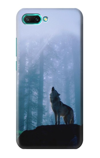 Printed Wolf Howling in Forest Huawei Honor 10 Case