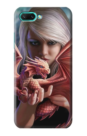 Printed Baby Red Fire Dragon Huawei Honor 10 Case