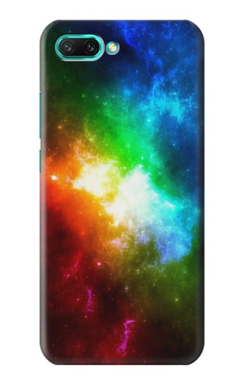 Printed Colorful Rainbow Space Galaxy Huawei Honor 10 Case