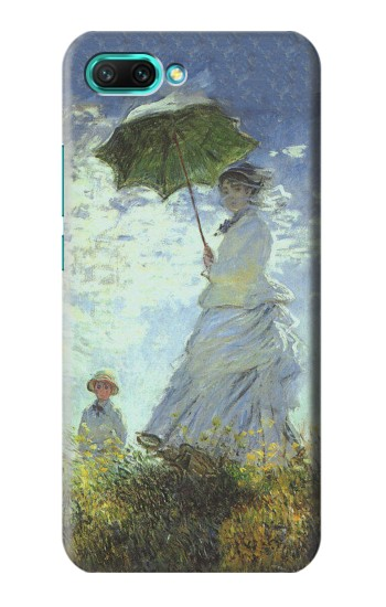 Printed Claude Monet Woman with a Parasol Huawei Honor 10 Case