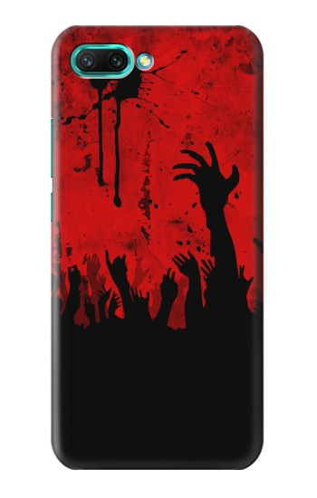 Printed Zombie Hands Huawei Honor 10 Case