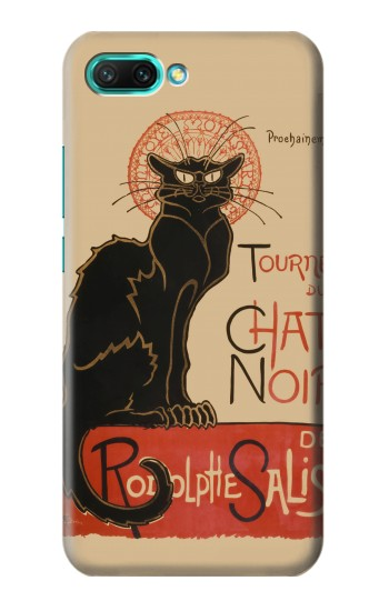 Printed Chat Noir The Black Cat Huawei Honor 10 Case