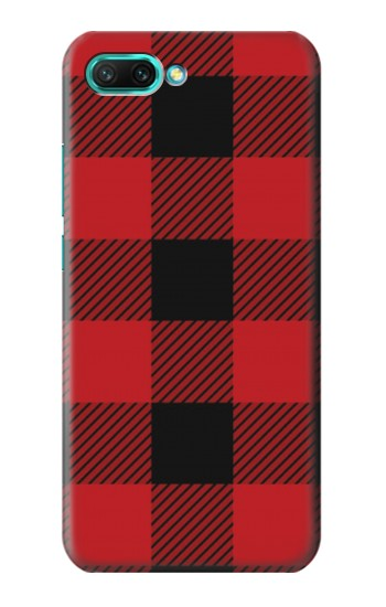 Printed Red Buffalo Check Pattern Huawei Honor 10 Case