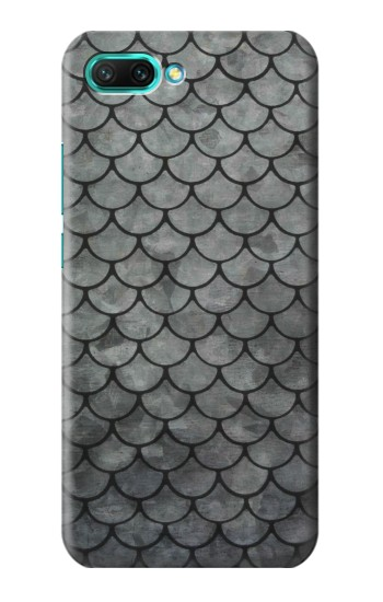 Printed Silver Fish Scale Huawei Honor 10 Case