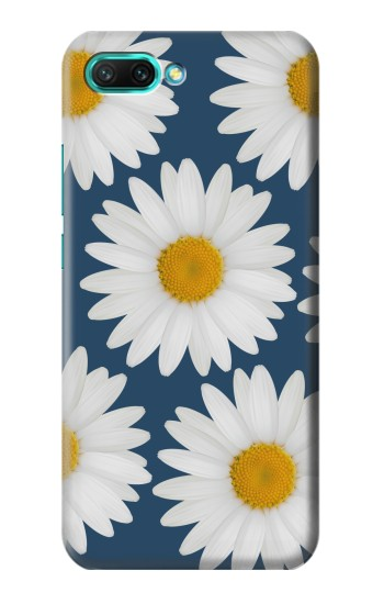 Printed Daisy Blue Huawei Honor 10 Case