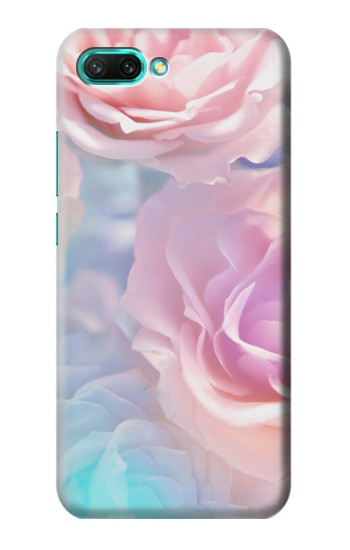 Printed Vintage Pastel Flowers Huawei Honor 10 Case