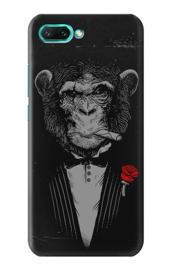 Printed Funny Monkey God Father Huawei Honor 10 Case