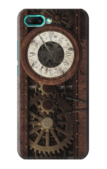 Printed Steampunk Clock Gears Huawei Honor 10 Case