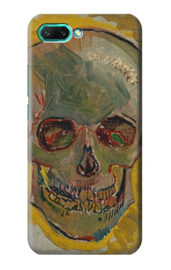 Printed Vincent Van Gogh Skull Huawei Honor 10 Case