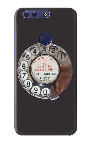 Printed Retro Rotary Phone Dial On Huawei Ascend G7 Case