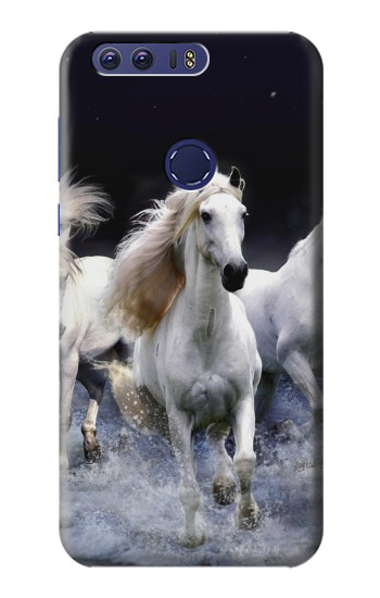 Printed White Horse Huawei Ascend G7 Case