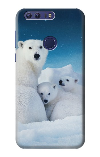 Printed Polar Bear Family Arctic Huawei Ascend G7 Case