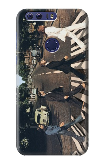 Printed The Beatles Abbey Road Huawei Ascend G7 Case