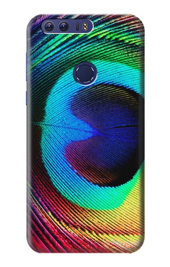 Printed Peacock Huawei Ascend G7 Case