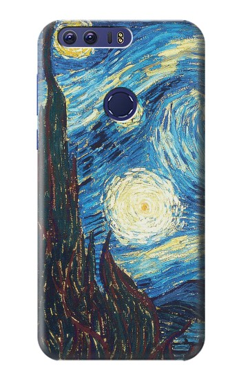 Printed Van Gogh Starry Nights Huawei Ascend G7 Case