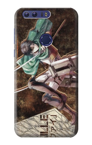 Printed Attack on Titan Rivaille Huawei Ascend G7 Case