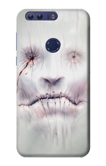Printed Horror Face Huawei Ascend G7 Case