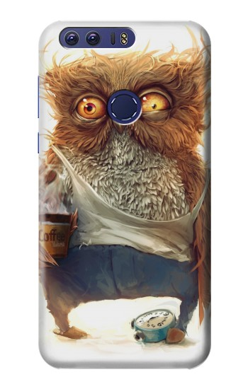Printed Wake up Owl Huawei Ascend G7 Case