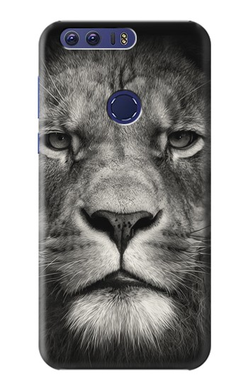Printed Lion Face Huawei Ascend G7 Case