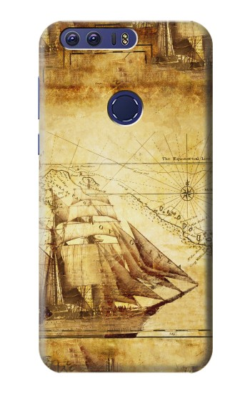 Printed Frigate Old Ship Huawei Ascend G7 Case