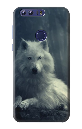 Printed White Wolf Huawei Ascend G7 Case