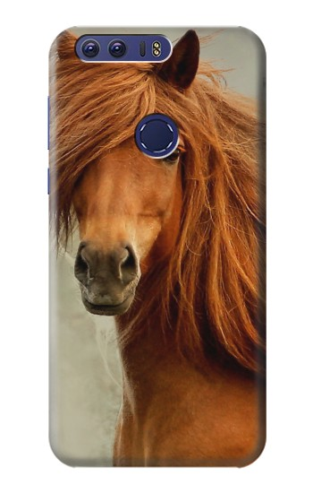 Printed Beautiful Brown Horse Huawei Ascend G7 Case