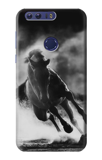 Printed Running Horse Huawei Ascend G7 Case