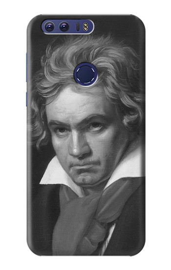Printed Beethoven Huawei Ascend G7 Case