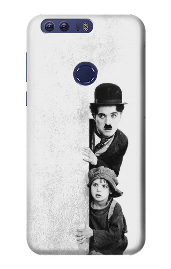 Printed Charlie Chaplin Huawei Ascend G7 Case