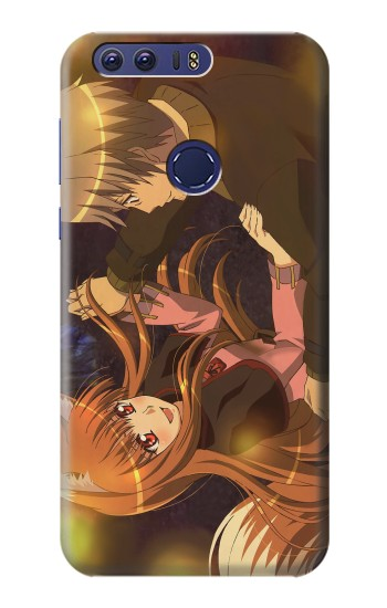 Printed Spice and Wolf Lawrence Horo Dancing Huawei Ascend G7 Case