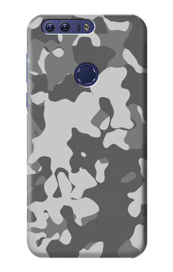 Printed Gray Camo Camouflage Graphic Printed Huawei Ascend G7 Case