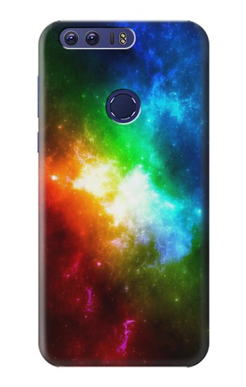 Printed Colorful Rainbow Space Galaxy Huawei Ascend G7 Case