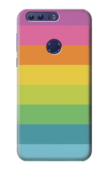 Printed Rainbow Pattern Huawei Ascend G7 Case