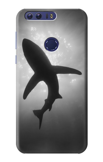 Printed Shark Monochrome Huawei Ascend G7 Case