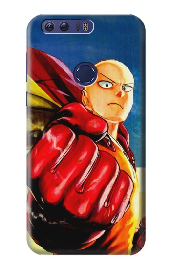 Printed Saitama One Punch Man Huawei Ascend G7 Case