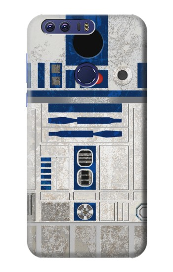 Printed Vintage R2D2 Minimalist Huawei Ascend G7 Case