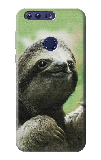 Printed Smiling Sloth Huawei Ascend G7 Case