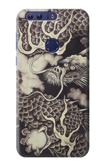 Printed Japan Painting Dragon Huawei Ascend G7 Case