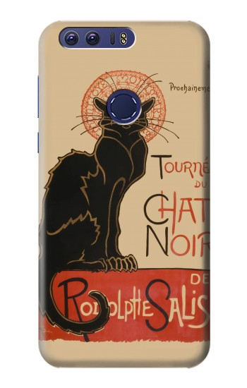 Printed Chat Noir The Black Cat Huawei Ascend G7 Case