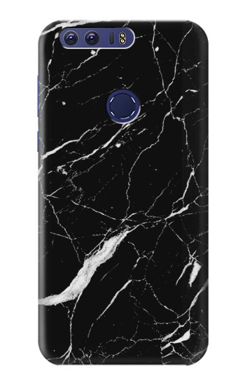 Printed Black Marble Graphic Printed Huawei Ascend G7 Case