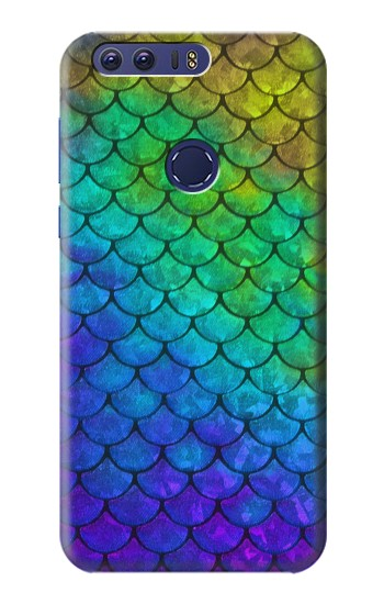 Printed Mermaid Fish Scale Huawei Ascend G7 Case