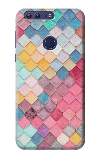 Printed Candy Minimal Pastel Colors Huawei Ascend G7 Case
