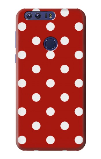 Printed Red Polka Dots Huawei Ascend G7 Case