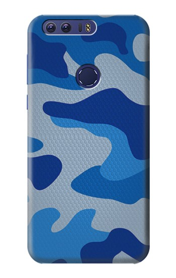 Printed Army Blue Camouflage Huawei Ascend G7 Case