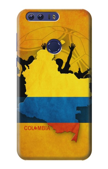 Printed Colombia Football Flag Huawei Ascend G7 Case