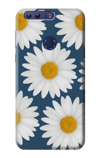 Printed Daisy Blue Huawei Ascend G7 Case