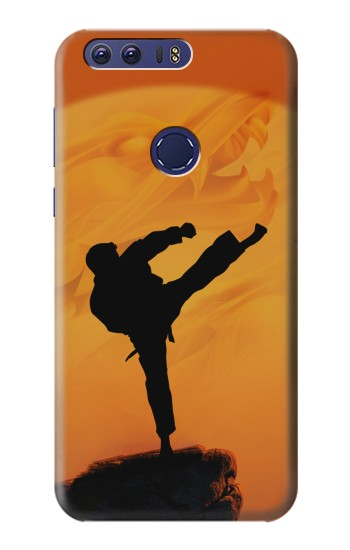 Printed Kung Fu Karate Fighter Huawei Ascend G7 Case
