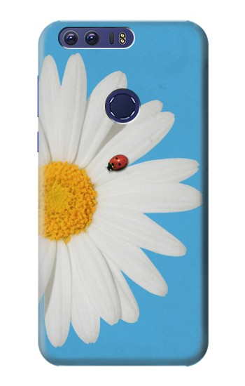 Printed Vintage Daisy Lady Bug Huawei Ascend G7 Case