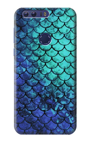 Printed Green Mermaid Fish Scale Huawei Ascend G7 Case